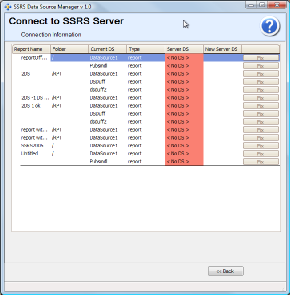 SSRS Data Source Manager- Manage SSRS Security in Bulk